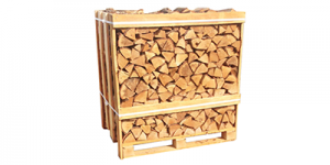 birch hardwood crate